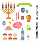 Various Symbols And Items  Of...