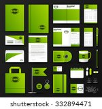 corporate identity template set.... | Shutterstock .eps vector #332894471