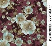 watercolor seamless pattern...   Shutterstock . vector #332926547