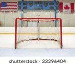 Ice Hockey Empty Net With...