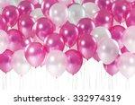 sweet pastel tone balloons... | Shutterstock . vector #332974319