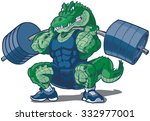 vector cartoon clip art... | Shutterstock .eps vector #332977001