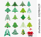 vector illustration. a set of... | Shutterstock .eps vector #332984129
