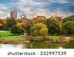 new york city manhattan central ... | Shutterstock . vector #332997539