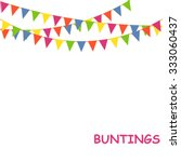 Buntings Flags Garlands On...