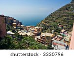 panoramic view of manarola a... | Shutterstock . vector #3330796