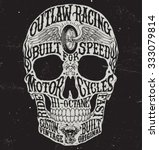 Motorcycle Inspired Typography...