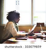 woman connection computer... | Shutterstock . vector #333079859