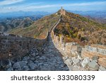 unrestored part of the great... | Shutterstock . vector #333080339