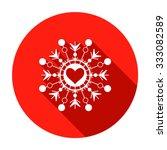 Snowflake  Heart View Icon....