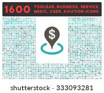geo targeting glyph icon and... | Shutterstock . vector #333093281
