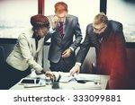 business team meeting... | Shutterstock . vector #333099881