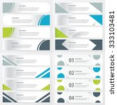 design banner template   green  ... | Shutterstock .eps vector #333103481