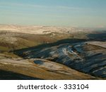 Yorkshire Dales Snowy Landscape