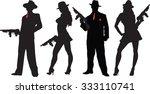 mobster | Shutterstock .eps vector #333110741