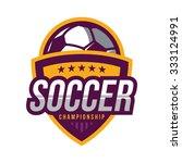 soccer logos  american logo... | Shutterstock .eps vector #333124991