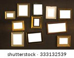 picture frame vector. photo art ... | Shutterstock . vector #333132539