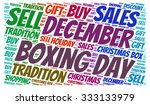 illustration of boxing day