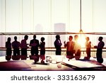 business team discussion... | Shutterstock . vector #333163679