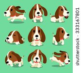 Cartoon Character Hound Dog...