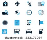 navigation simply symbol for... | Shutterstock .eps vector #333171089