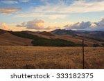 view of sicily landscape.... | Shutterstock . vector #333182375