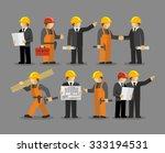 construction engineering... | Shutterstock .eps vector #333194531