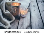 cosy and soft winter background ... | Shutterstock . vector #333216041