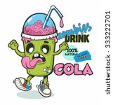 vector illustration of zombie... | Shutterstock .eps vector #333222701