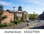 newcastle  uk  september 15th... | Shutterstock . vector #333227504