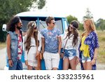summer holidays  road trip ... | Shutterstock . vector #333235961