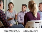 members of support group... | Shutterstock . vector #333236804