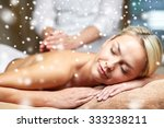 people  beauty  spa  winter and ... | Shutterstock . vector #333238211