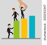 business profit growth up... | Shutterstock .eps vector #333252347
