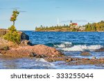 The Copper Harbor Light is a lighthouse is found on the Keweenaw Peninsula of Upper Michigan.