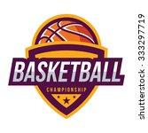basketball logo  american logo... | Shutterstock .eps vector #333297719
