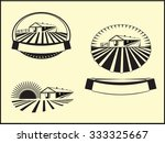 farm labels | Shutterstock . vector #333325667