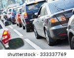 Urban Traffic Jam In A City...