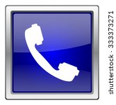 phone icon. internet button on... | Shutterstock .eps vector #333373271