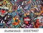 prajuabkirikhan  thailand  ... | Shutterstock . vector #333375407