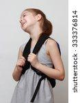 european schoolgirl | Shutterstock . vector #333376814
