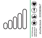graph line icon | Shutterstock .eps vector #333380867