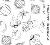 vegetables | Shutterstock .eps vector #333389819