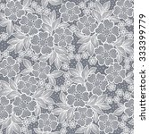 seamless  lace  floral  ... | Shutterstock .eps vector #333399779