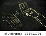 near field communication and... | Shutterstock . vector #333411701