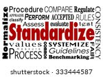 standardize word collage... | Shutterstock . vector #333444587
