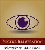 eye vector symbol   Shutterstock .eps vector #333445661