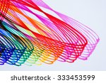 colorful  abstract pattern from ... | Shutterstock . vector #333453599