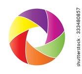 photo studio logo  | Shutterstock .eps vector #333480857
