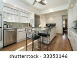 kitchen in suburban home | Shutterstock . vector #33353146